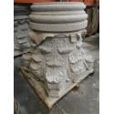 Columna Granito G 603 abujardado