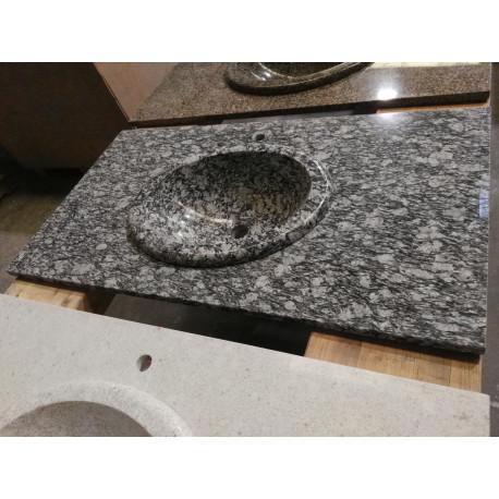 Encimera y lavabo Granito Spray pulido
