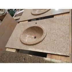 Encimera y lavabo Granito Öxido pulido