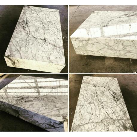 Mesa de centro Blanco Carrara